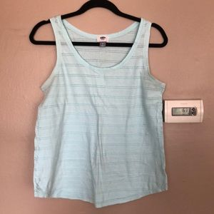 Old Navy light blue tank top